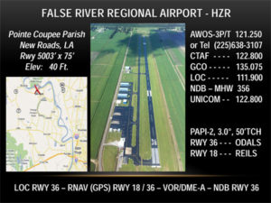 False River Regional Airpor